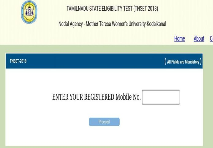 TN SET 2018 Admit Card Released, Download at tnsetexam2018mtwu.in