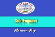 TS TRANSCO SE answer key 2018