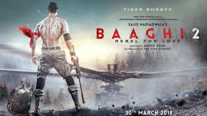 Tiger Shroff Baaghi 2 Movie Trailer released