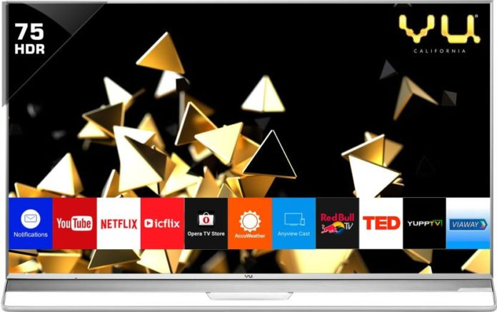 Vu Quantum Pixelight 4K HDR LED TV Series Launched in India; Know Specifications