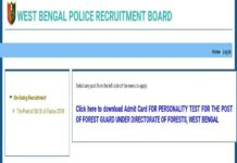 WB Police SI Online Application Last Date March 4, Details at wbprb.applythrunet.co.in