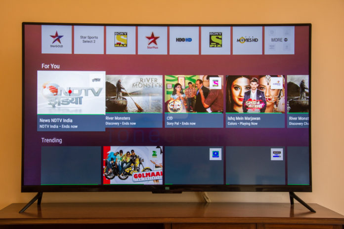 Xiaomi Mi TV 4 launched in India for Rs 39,999/-, Know Specifications here