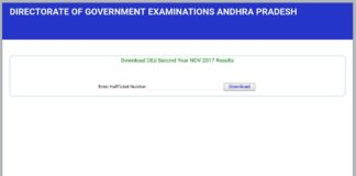 AP D.Ed 2nd year Exam Results released; Apply recounting before March 25