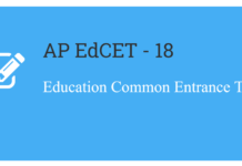 AP EdCET 2018 Notification released for BEd 2 Year Admissions