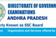 AP SSC March 2018 Hall Tickets Download Now at www.bse.ap.gov.in