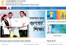 Assam LPS Assistant Teacher 5393 Posts notification released