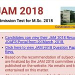 IIT JAM 2018 Results released, Check now at jam.iitb.ac.in