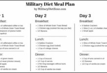 Military Diet Plan for Weight Loss; Know Diet Plan for Weight Loss