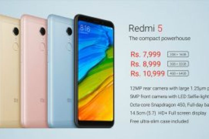 Xiaomi Redmi 5 Hands-on