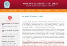 UGC NET 2018 Online Application Opened at cbsenet