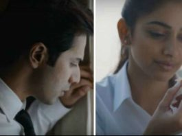 Varun Dhawan October movie Theher Ja full song released