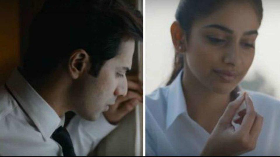 Varun Dhawan and Banita Sandhu in 'October' song 'Theher Jaa'