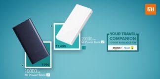Xiaomi Mi Power Bank 2i Available now in Flipkart, Amazon India