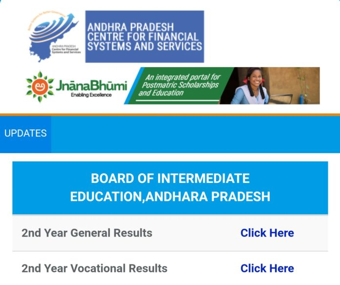 AP Inter 2nd Year Results 2018 released at results.apcfss.in