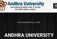 Andhra University B.Ed Notification released, Apply Distance AU B.Ed Notification