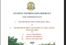 BR Ambedkar University Distance B.Ed Notification 2018- Apply at BRAOU
