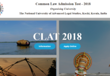 CLAT Admit Card 2018 released at @information.clat.ac.in