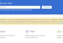 Google Shutting Down to goo.gl URL Shortener service