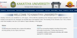 Kakatiya University BPEd Regular Exam Time Table released