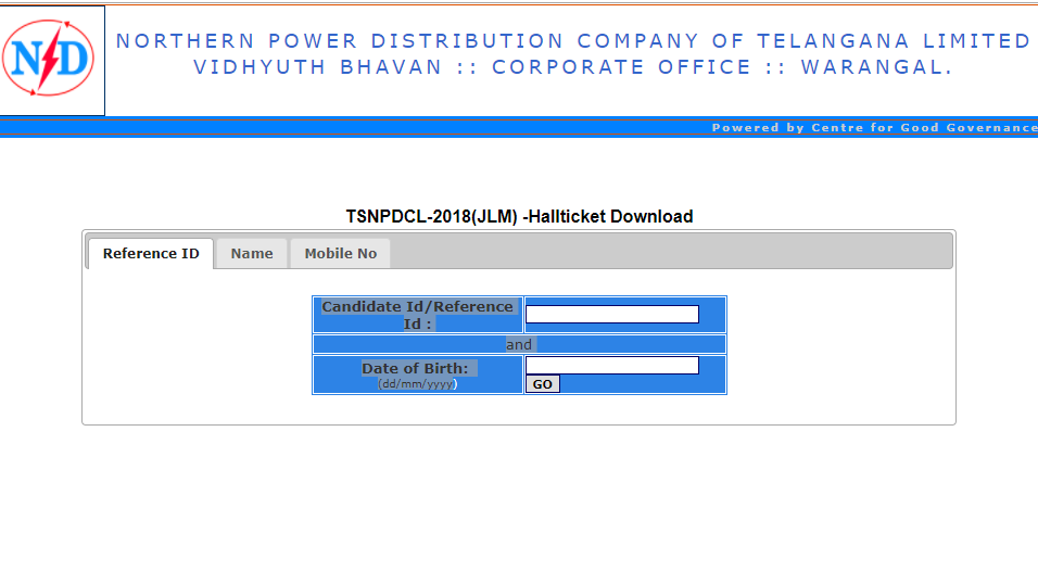 TSNPDCL JLM Hall Tickets 2018 released at tsnpdcl.cgg.gov.in