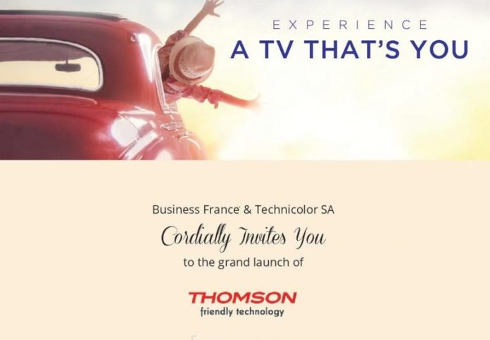 TV Brand Thomson to re-enter Indian market with new LED TVs on April 12