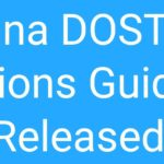 DOST Degree Admissions Guidelines G.O 12 Released