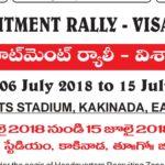 AP Visakhapatnam Army Recruitment Rally 2018 at Kakinada Online Application From 21 May