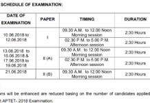 AP TET May 2018 Exam Center Options from Today at @aptet.apcfss.in