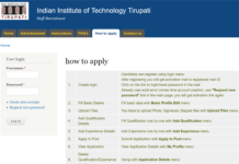 IIT Tirupati Recruitment 2018 Apply 46 Staff Posts at iittp.ac.in