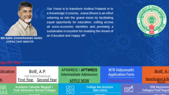 NTR Vidyonnathi Scheme 2018 Online Application Syllabus