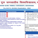 Rajasthan BSTC (D.El.Ed) Answer Key released SET A, B, C, D