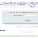 Telangana RJC CET Results, Rank Card released at tsrjdc.cgg.gov.in
