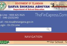 Telangana SSA Transport facility to the Children of the Habitations