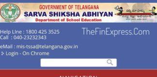 Telangana SSA Transport facility to the Children of the Habitations