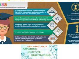 Telangana Inter Corporate Colleges Admissions 2018 @telanganaepass.cgg.gov.in