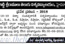 Potti Sreeramulu Telugu University (PSTU) Admissions Opened at pstucet.org
