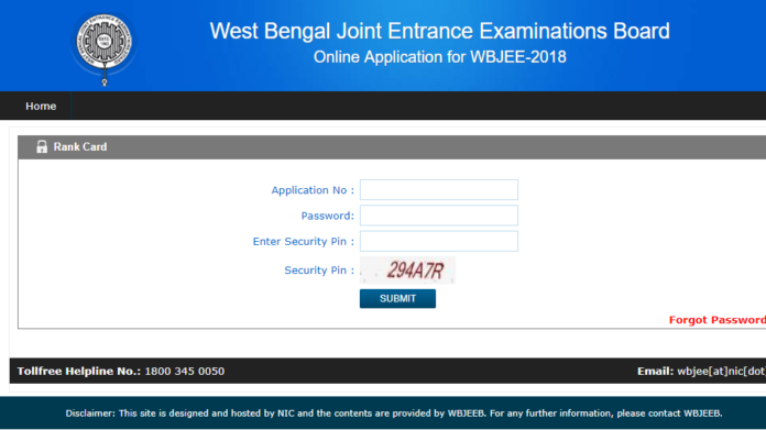 WBJEE 2018 result, Rank Card released at wbjeeb.nic.in