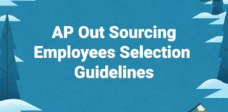 AP SSA Outsourcing Employees Selection Qualifications, Guidelines released