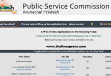 Arunachal Pradesh Recruitment TGT and PGT 667 Posts Apply at appsconline.in