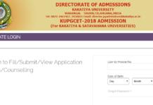 KU PGCET 2018 Results, Rank Card Download at kupgcet.com