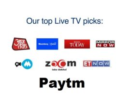 Paytm Inbox now offers Live TV, Cricket, News, Games free to watch