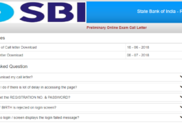 SBI PO Prelim admit card Download at ibps.sifyitest.com