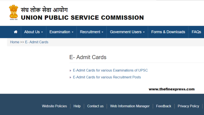 UPSC Releases Admit Card For IES ISS Exam 2018; Know the procedure to download