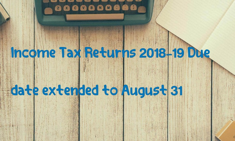 Income Tax Return Filing Deadline Extended Dates