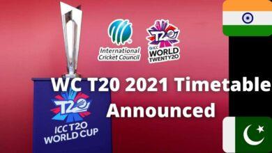 WC T20 2021